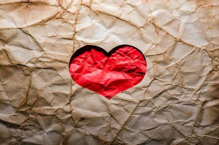 Background. Happy Valentines Day. Heart. Love. Retro style