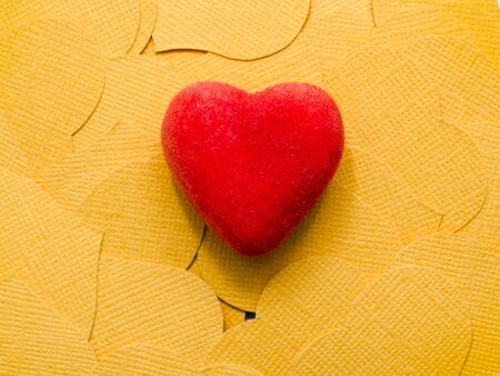 Happy Valentines Day. Heart. Love. Celebratory background Stock Photo