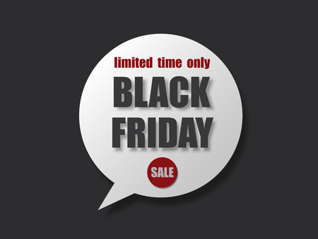 Black friday sale banner. Abstract Background