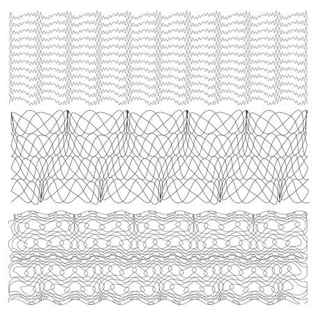 guilloche: Guilloche, Background Pattern For Certificate Vector Illustration