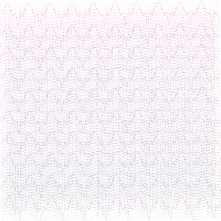 Background for certificate, voucher, note, guilloche pattern. Ilustração