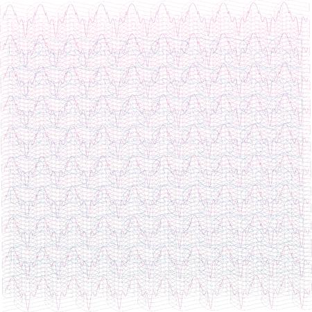 Background for certificate, voucher, note, guilloche pattern. Vettoriali