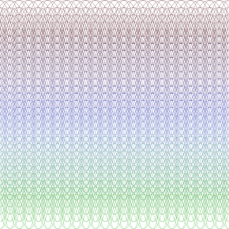 Certificate or voucher guilloche pattern background.