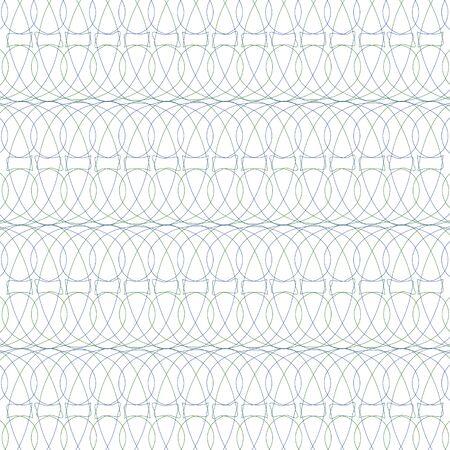 Guilloche background for certificate, design element, Watermark, Ilustração