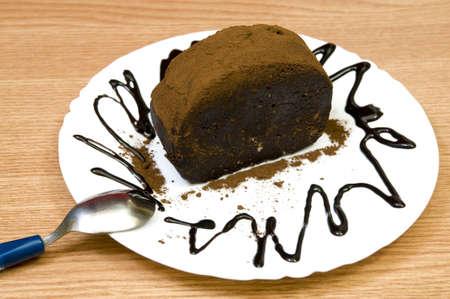 yummy chocolate cake Stock Photo - 6821289