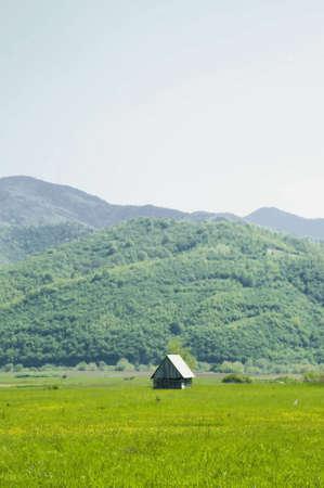 isolated small wooded house, in Sibiu area, Romania