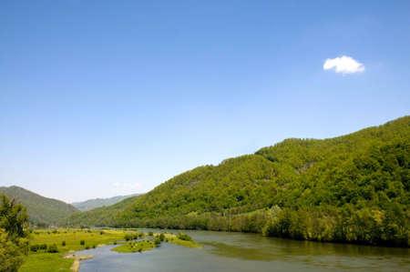 towards the carpathians, in western romania