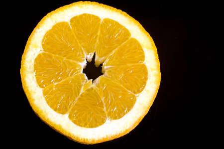 perfect orange slice