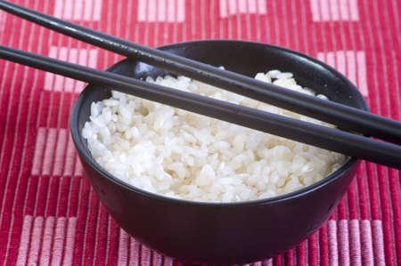 plain rice bowl