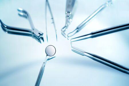 prosthodontics: Strumenti dentali con poca profondit� di campo
