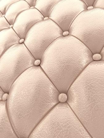 Beige leather upholstery pattern , 3d illustration illustration
