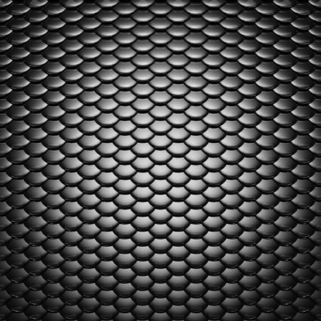 escamas de peces: Metálico escalas patrón, iluminación espectacular Foto de archivo