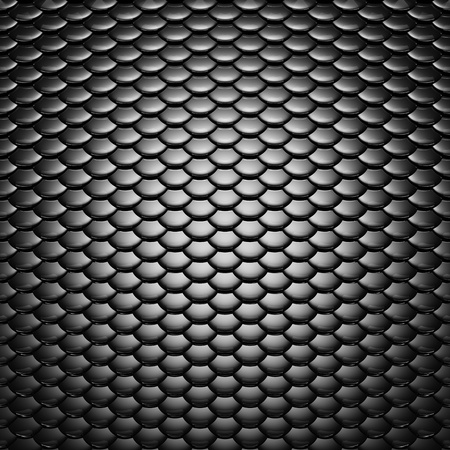 Metallic scales pattern , dramatic lighting Stock Photo - 12796245