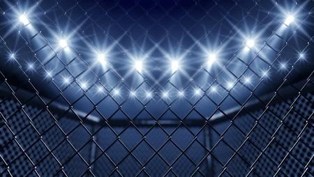 gabbie: MMA gabbia e proiettori