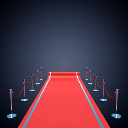 Feier: Roter Teppich Hintergrund Verleihung Premiere