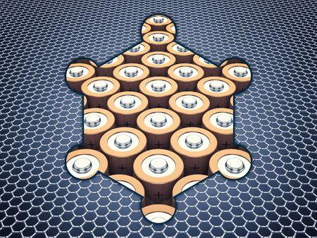 allotrope: Graphene supercapacitor batteries , Nanotechnology