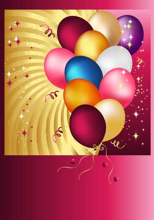 streaks: Baloons Illustration
