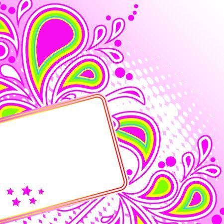 brightest: Festa astratto sfondo delle pi� brillanti bande, archi, cerchi e stelle su uno sfondo bianco