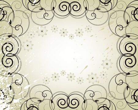 free place: vector frame