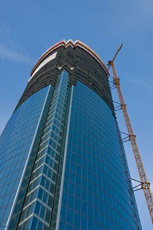 constraction: skyscraper Stock Photo