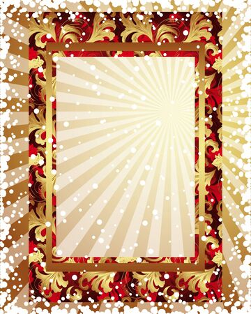 aurum: Golden frame
