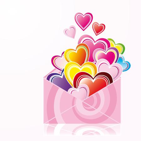 Love letter Stock Vector - 4257835