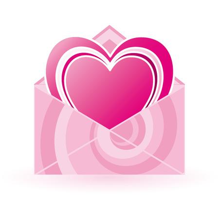 Love letter Stock Vector - 4257845