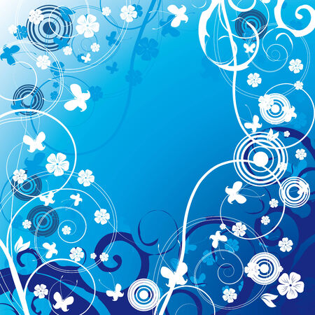 Floral background Stock Vector - 4329497