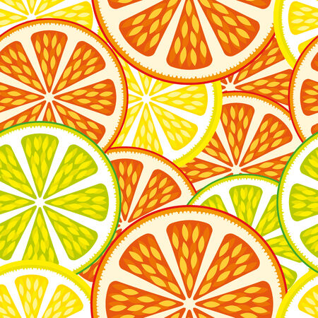 citrus: Seamless background