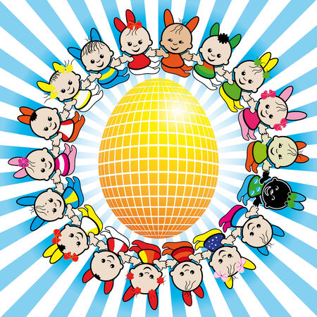 World of the Easter Vector