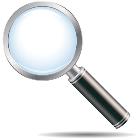 magnifying glass Stock Vector - 4637118