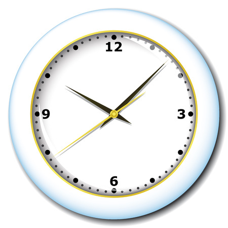 office clock: Oficina de reloj