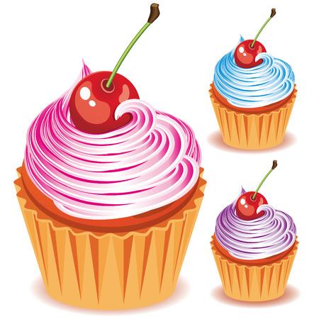 vanilla cupcake: Pies