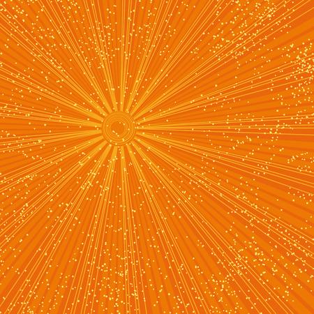 hot summer sun Stock Vector - 5110684