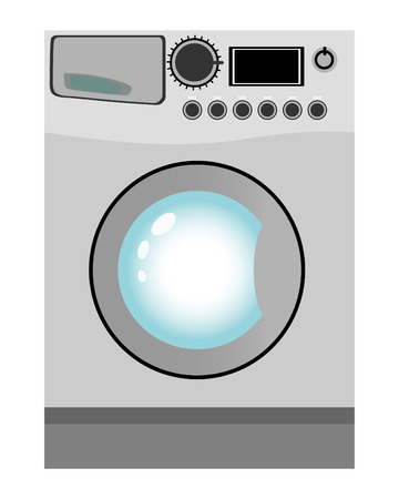 Washing machine Stock Vector - 5163026