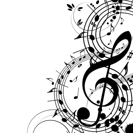 Musical background Stock Vector - 5325453