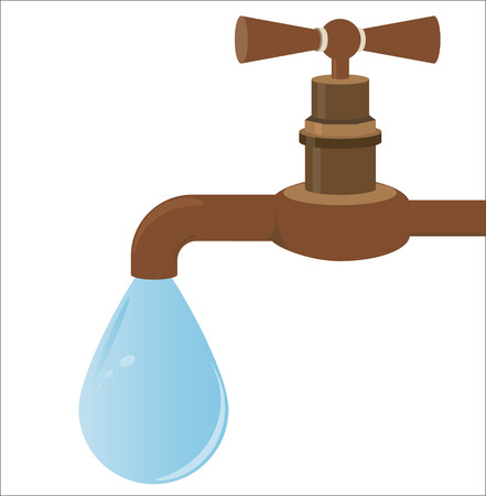 plumbers: Faucet Illustration