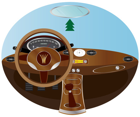 Dashboard Stock Vector - 5357602