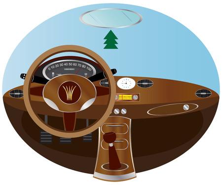 clock radio: Dashboard