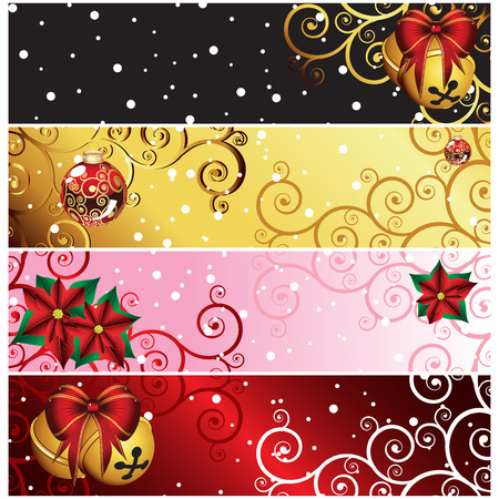 boughs: Christmas backgrounds Illustration