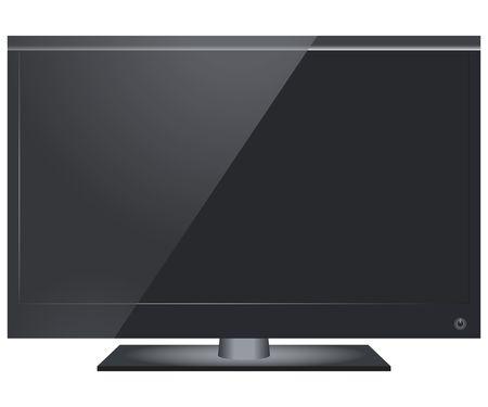 LCD TV set photo