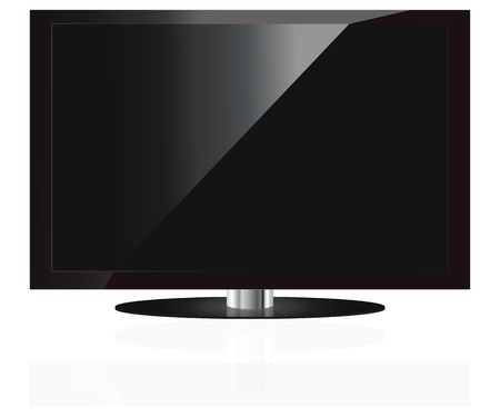 LCD TV set Stock Photo - 6418131