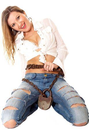 free me: Shall you free me? Stock Photo