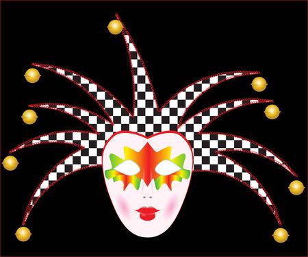masque de venise: Masque de Venise Illustration