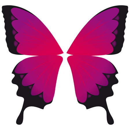 Emo butterfly Vector