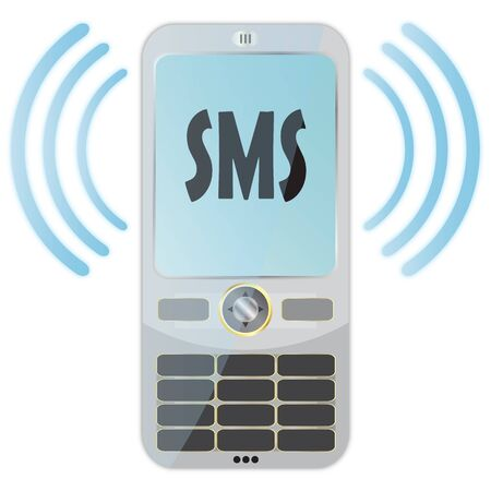 SMS Stock Photo - 6975986