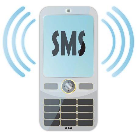 SMS Stock Photo - 6975986