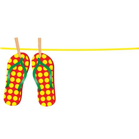 Flip-flops on the rope