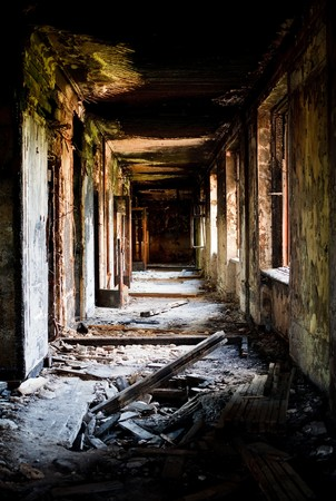 radiactividad: Ciudad perdida. Construcci�n abandonada