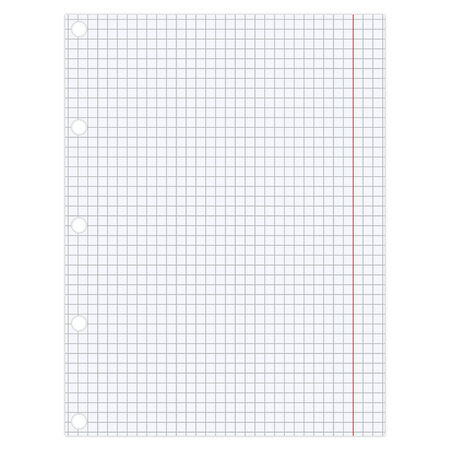 grid texture: sheet of paper Illustration